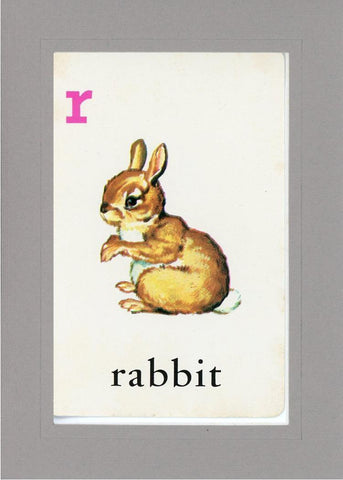 R is for Rabbit - PLYMOUTH CARD COMPANY  - 13