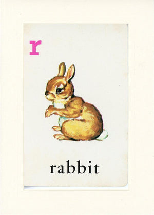 R is for Rabbit - PLYMOUTH CARD COMPANY  - 16