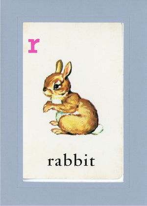 R is for Rabbit - PLYMOUTH CARD COMPANY  - 15