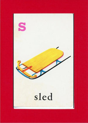 S is for Sled - PLYMOUTH CARD COMPANY  - 5