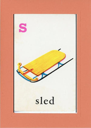 S is for Sled - PLYMOUTH CARD COMPANY  - 11