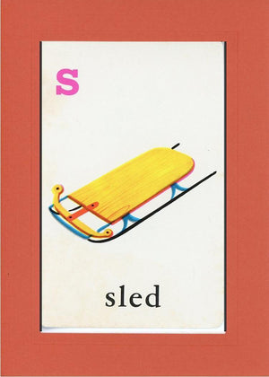 S is for Sled - PLYMOUTH CARD COMPANY  - 7