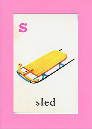 S is for Sled - PLYMOUTH CARD COMPANY  - 4