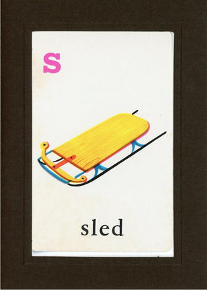 S is for Sled - PLYMOUTH CARD COMPANY  - 13