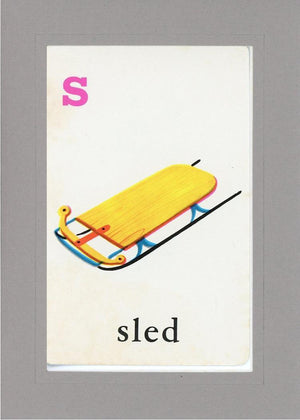 S is for Sled - PLYMOUTH CARD COMPANY  - 14