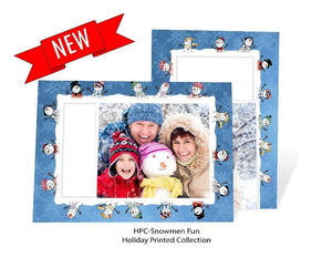 Snowman Fun 30 Card Set + Ornament!-Photo note cards-Plymouth Cards