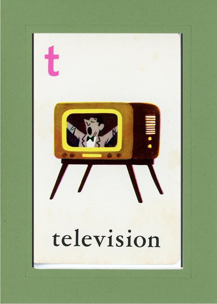 T is for Television - PLYMOUTH CARD COMPANY  - 7