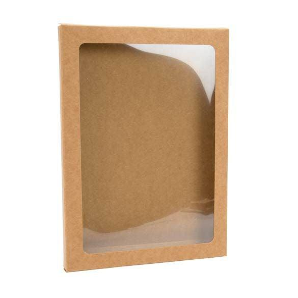 Card boxes - kraft brown