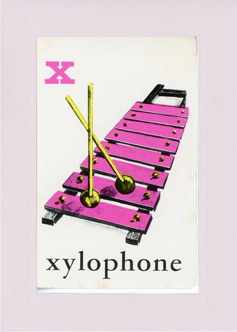 X is for Xylophone - PLYMOUTH CARD COMPANY  - 23