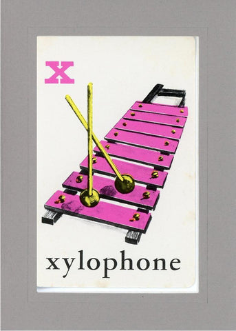X is for Xylophone - PLYMOUTH CARD COMPANY  - 13