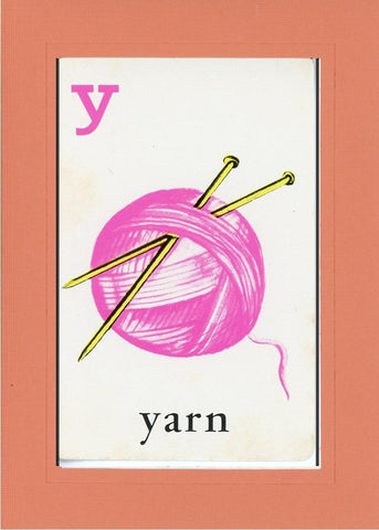 Y is for Yarn - PLYMOUTH CARD COMPANY  - 10