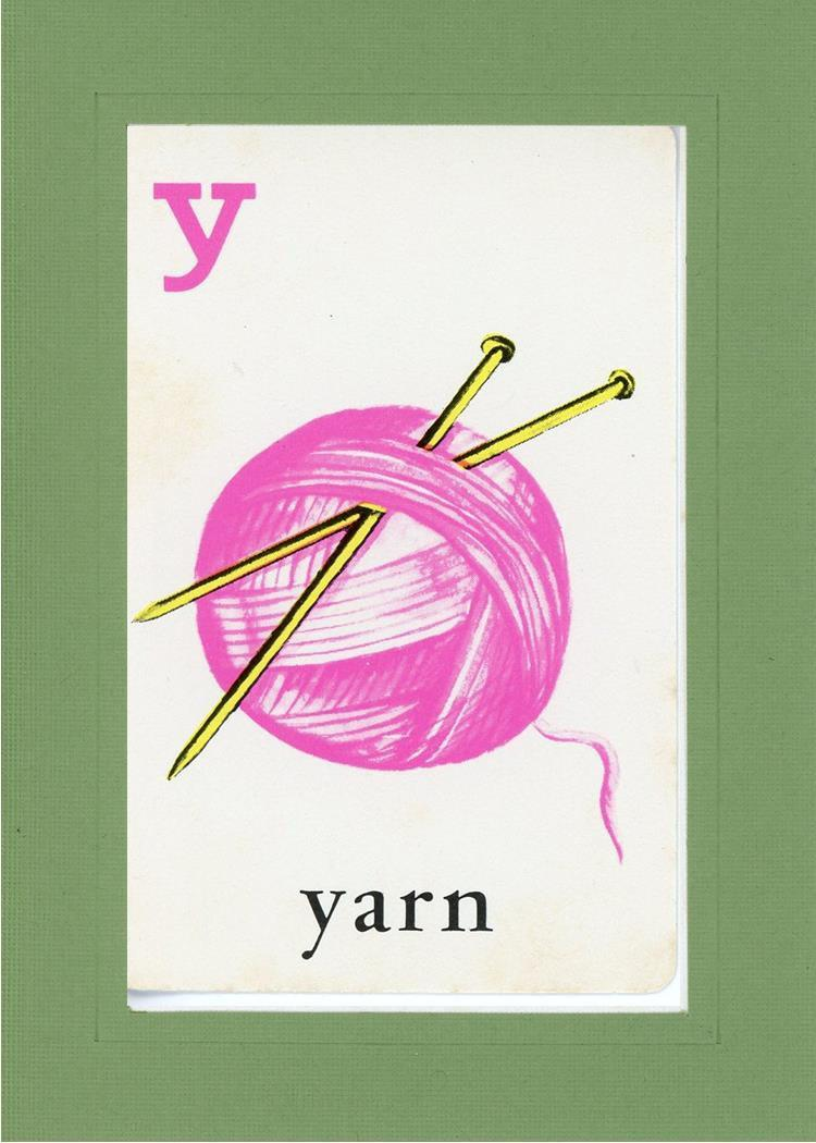 Y is for Yarn - PLYMOUTH CARD COMPANY  - 6