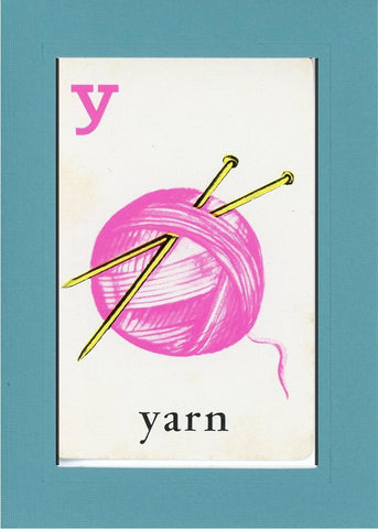 Y is for Yarn - PLYMOUTH CARD COMPANY  - 11