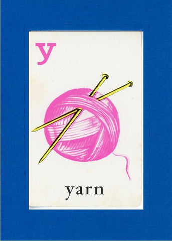 Y is for Yarn - PLYMOUTH CARD COMPANY  - 14
