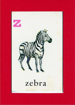 Z is for Zebra - PLYMOUTH CARD COMPANY  - 7