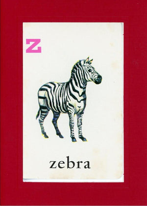 Z is for Zebra - PLYMOUTH CARD COMPANY  - 26