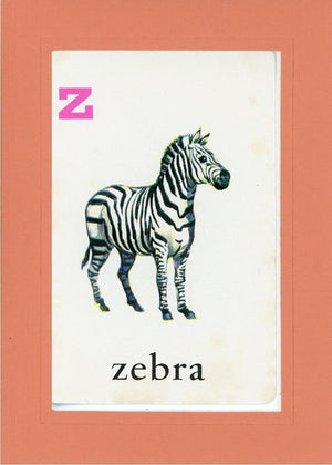 Z is for Zebra - PLYMOUTH CARD COMPANY  - 10