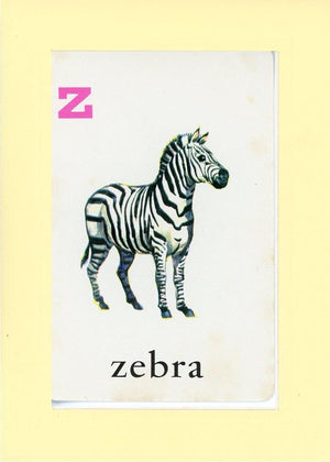 Z is for Zebra - PLYMOUTH CARD COMPANY  - 31