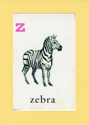 Z is for Zebra - PLYMOUTH CARD COMPANY  - 4