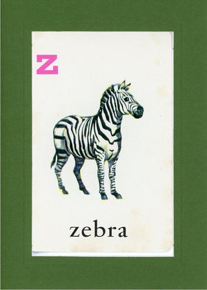 Z is for Zebra - PLYMOUTH CARD COMPANY  - 11