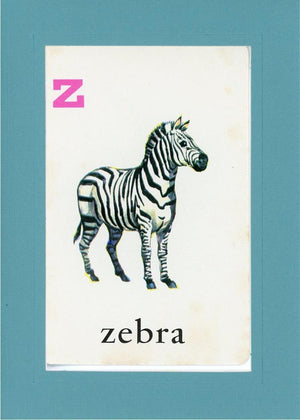 Z is for Zebra - PLYMOUTH CARD COMPANY  - 13