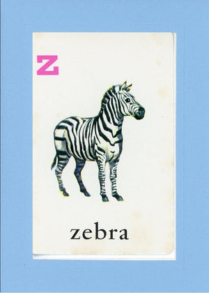 Z is for Zebra - PLYMOUTH CARD COMPANY  - 29