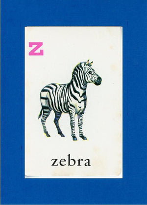 Z is for Zebra - PLYMOUTH CARD COMPANY  - 6