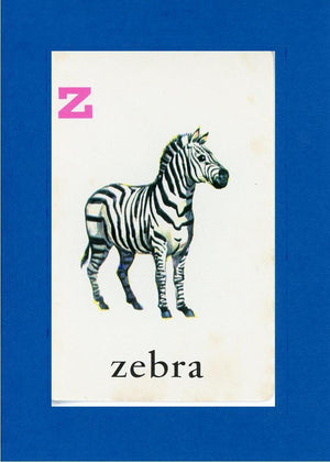 Z is for Zebra - PLYMOUTH CARD COMPANY  - 24