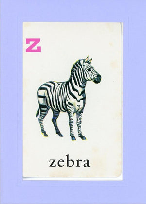 Z is for Zebra - PLYMOUTH CARD COMPANY  - 20