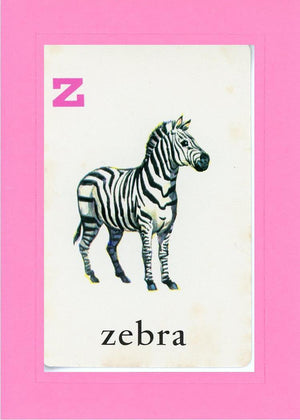 Z is for Zebra - PLYMOUTH CARD COMPANY  - 5
