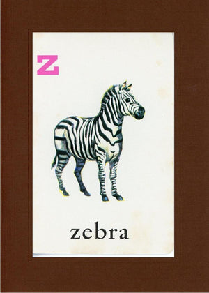 Z is for Zebra - PLYMOUTH CARD COMPANY  - 21