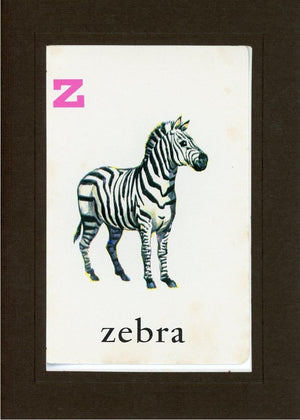 Z is for Zebra - PLYMOUTH CARD COMPANY  - 14