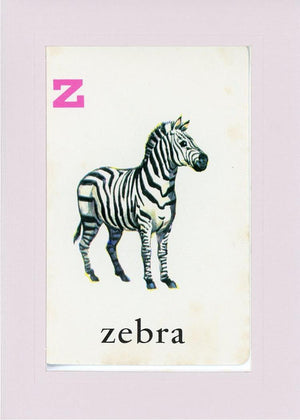 Z is for Zebra - PLYMOUTH CARD COMPANY  - 22