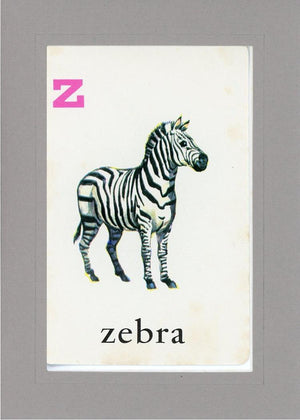 Z is for Zebra - PLYMOUTH CARD COMPANY  - 15
