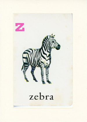 Z is for Zebra - PLYMOUTH CARD COMPANY  - 18