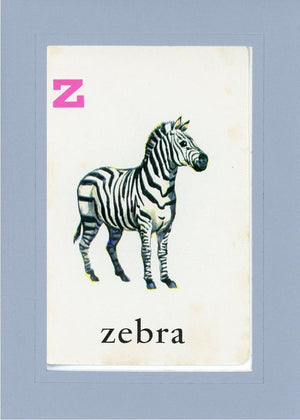 Z is for Zebra - PLYMOUTH CARD COMPANY  - 17