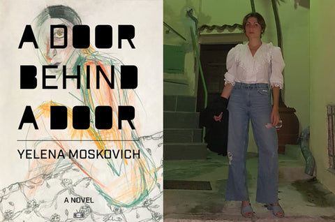 A Door Behind a Door a novel by Yelena Moskovich