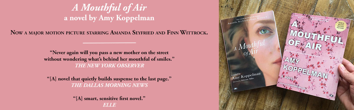 A Mouthful of Air by Amy Koppelman Two Dollar Radio book covers