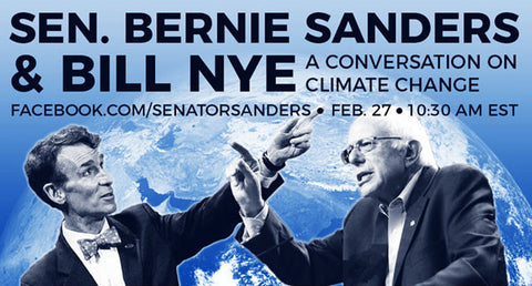 Bill Nye & Bernie Sanders | Radio Waves