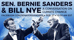 Bill Nye & Bernie Sanders Climate Talks | Radio Waves