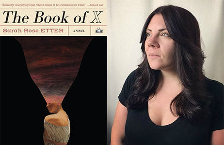 Sarah Rose Etter author of The Book of X