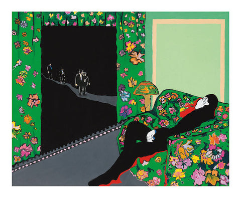 Rosalyn Drexler - The Night Visitors (1988)