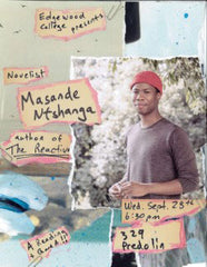 Masande Ntshanga at Edgewood College