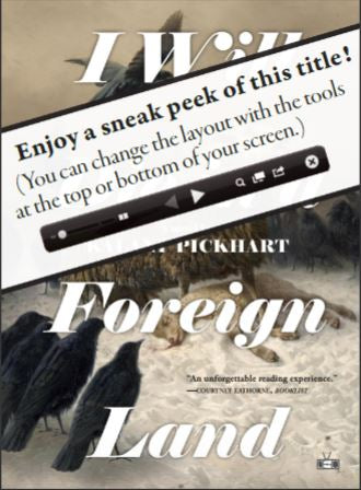 Kalani Pickhart's I Will Die in a Foreign Land book cover