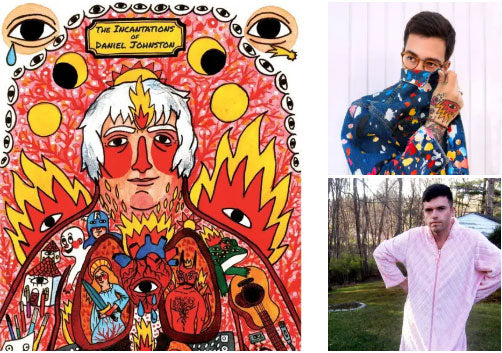 The Incantations of Daniel Johnston by Scott McClanahan and Ricardo Cavolo