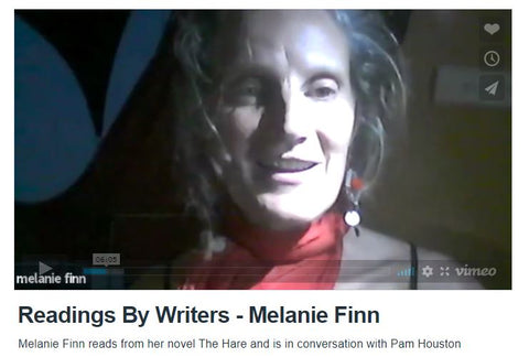 Readings By Writers — Melanie Finn reading from her novel The Hare and in conversation with Pam Houston!