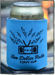 Two Dollar Radio koozie