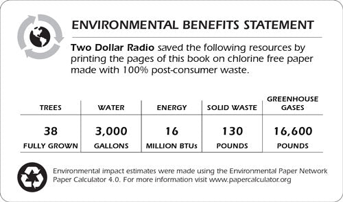 Environmental statement for the paperback edition of The Underneath