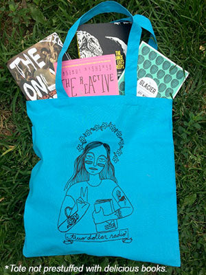 Two Dollar Radio tote bag