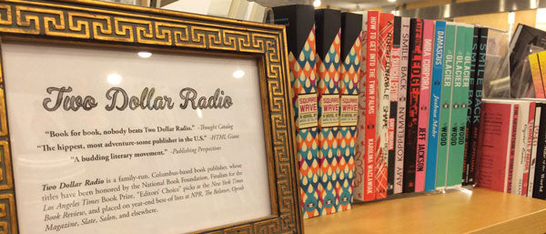 Two Dollar Radio Book Shelf